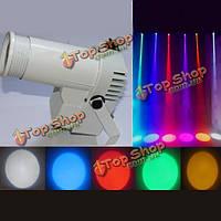 Белый корпус полноцветный мини 3W LED pinspot этап эффект освещения для диско DJ партии