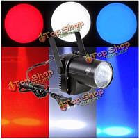 3w белое освещение луча LED прожектор pinspot Рождество бар этап эффект DJ диско клуб