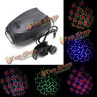 Авто / звук активный 35w 64 LED RGBW этап эффект света проектор для DJ Дискотека партии