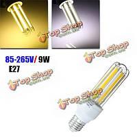E27 LED лампы 9W початка U-образный Clear белый/теплый белый энергосберегающий светильник кукурузы свет AC 85-265V