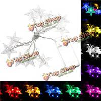 1м 10 LED с фея света строка LED батарея романтическая рождественская звезда партии садовый декор