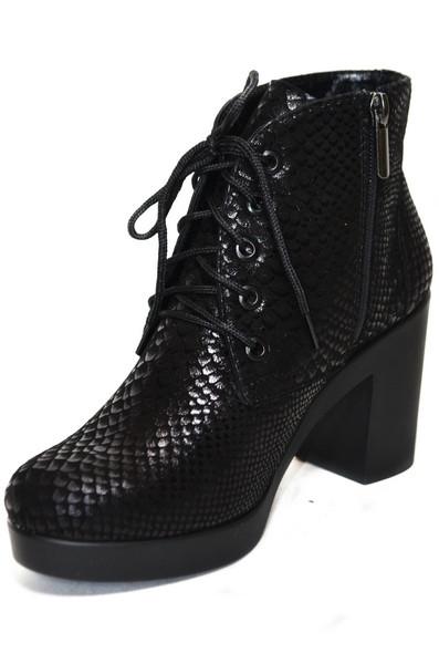 Женские ботинки (арт.028рептилия)