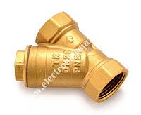 Фільтр косий сітчатий муфтовий Ду 20 (латунь,в/в, TK-Water)