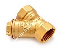Фільтр косий сітчатий муфтовий Ду 25 (латунь,в/в, TK-Water)
