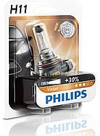 Philips Premium +30% / тип H11 / 1шт.