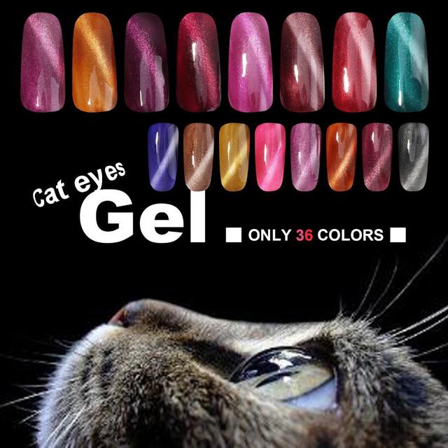 Гель-лак для ногтей My Nail Cat eyes Кошачий глаз 9 мл
