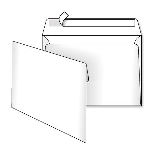 Конверт С5 (0+0) самоклеющийся с силиконовой лентой