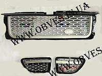 Решетка радиатора и жабры Range Rover Sport 2005-2009