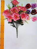 Искусственные цветы Роза открытая круговая