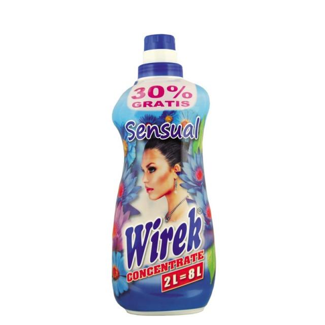 Безфосфатний кондиціонер для прання Wirek Sensual 2 л