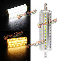 R7s LED лампы 10Вт 72 SMD 2 835 Clear белый/белый кукуруза теплый свет лампы заменить галогенная лампа 220-240