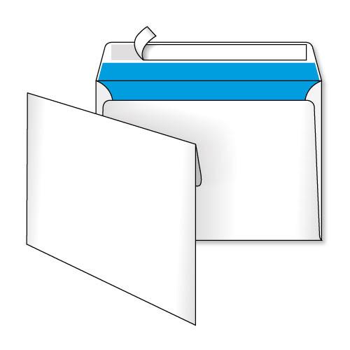 Конверт С5 (0+1) самоклеящийся с силиконовой лентой