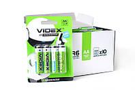 Батарейки лужні VIDEX LR06/AA