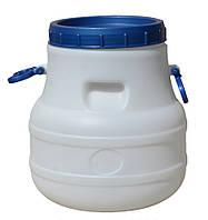 Бочка (бидон) пищевая 20 л  белая  ф-24 см , 327х300, К