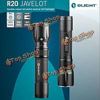 Olight R20 javelot Cree XP-л привет 900lm USB тактический LED фонарик