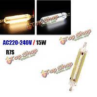 Лампочка LED R7s 15w 118мм SMD 3014 228 чисто белый/теплый белый Светодиодная кукурузы 220В-240В