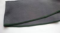 Довяз-воротник #33. Серый с зелёной полоской. Длина 39 см, ширина 9,5 см., фото 1