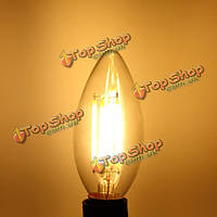 Лампочка e14 LED 4w глыба белоснежная / теплая белая edison ретро лампа света свечи нити ac 220v