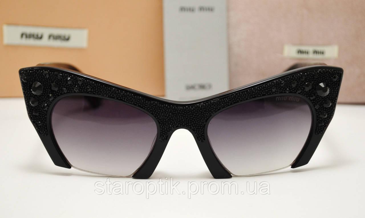 Женские солнцезащитные очки Miu Miu Smu 02 Qs , фото 1