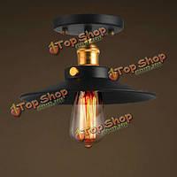 40Вт старинная промышленная современная лампа потолочных светильников кулона ресторана на 23см 110/220В