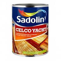 Sadolin CELCO YACHT Яхтный лак (полуматовый) 1 л