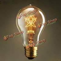 27 40Вт A19 старинные ретро звезды Эдисон лампы накаливания для внутреннего декоративного освещения 110В/220В