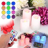 Светодиодные свечи Luma Candles с пультом, романтика у  Вас  дома
