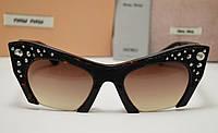 Женские солнцезащитные очки Miu Miu Smu 02 Qs лео, фото 1