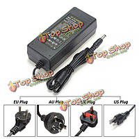 UK/EU/US/AU ac 100-240В к dc 12v 10А адаптер зарядного устройства электроснабжения для LED полоса
