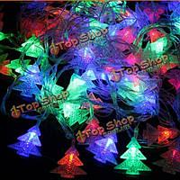 5м 28 LED натягивают гирлянду для рождественской елки домашнее художественное оформление свадебной вечеринки сада