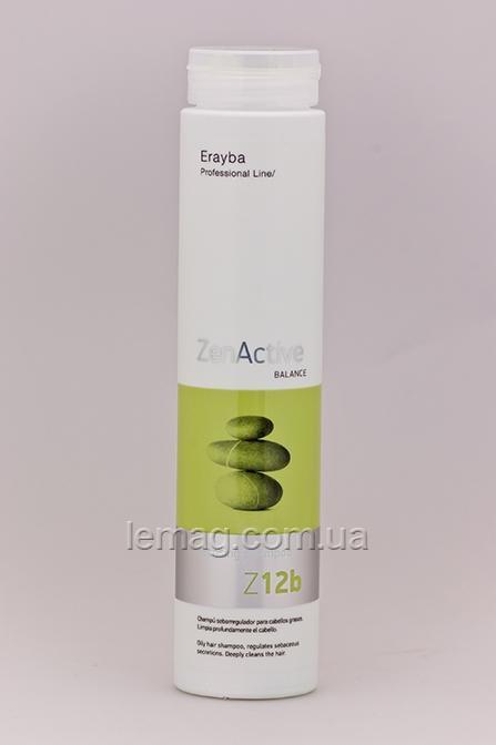 Erayba Professional Zen Active Balance Z12b Cleansing Shampoo Шампунь-регулятор жирности, 250 мл