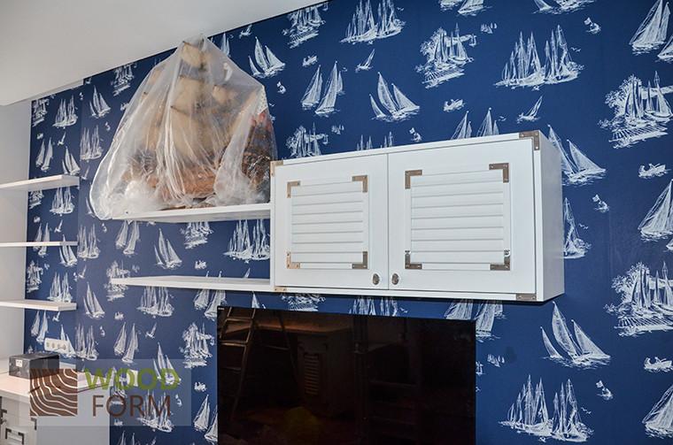 Детская комната в морском стиле 2