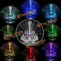 LED Оптическое волокно бабочка корону праздник танца бар глава партии группа красочные глава пряжки