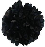 Помпон бумажный (черный) 290716-001