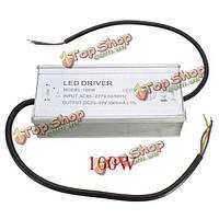 Новый 100w блок питания IP67 водонепроницаемый постоянного тока LED свет водитель
