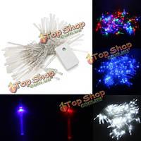 10м 100 LED струнные оптическое волокно фея света на праздник рождества свадьбу украшения партии
