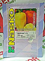 Семена перца Дорин F1, 500 семян Nasko (Наско), Молдавия