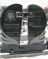 Пам'ятник подвійний pp-01 pp-10