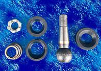 Ремкомплект рулевого наконечника ЗИЛ/палец рулевой ;сухари 2 шт. ; гайка; пыльник/ 120-3003000