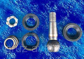 Ремкомплект рульового наконечника ЗІЛ/палець рульової ;сухарі 2 шт. ; гайка; пильник/ 120-3003000