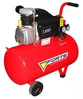 КОМПРЕССОР - FL-50 (FORTE)Компресор FL-50 - 8 атм. 1,5 кВт, вхід: 203 л/хв., рес-р 50 л. FORTE {8414802298}