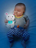 Fisher-Price Soothe and Glow Bunny Музыкальный ночник Зайчик, фото 1