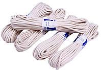 """Веревки бытовые """"MNM"""" Х/Б (4mm/15m) плетеные шнуры, хлопчатобумажные, фото 1"""