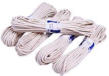 """Веревки бытовые """"MNM"""" Х/Б (6mm/15m) плетеные, хлопчатобумажные"""