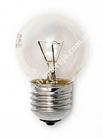 Лампа куля 60D1/CL/E27 230V GE проз.