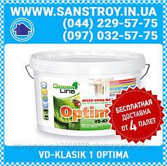 Краска интерьерная для стен и потолков VD-KLASIK Optima 1л