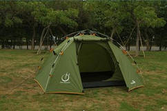 Палатка Weekender мгновенной сборки трехместная стеклопластик