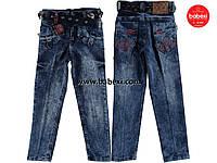 Модние брюки джинсы для мальчика с поясом 6-7, 8-9 лет. Турция!!! Детская джинсовая одежда.