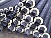 Трубы теплоизолированные производим всех диаметров в ПЕ/СПИРО оболочке.