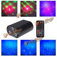 5w RGB пульт дистанционного управления лазерная LED сценическое освещение проектор на Рождество дискотека